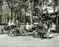 USA, New York Central Park 1904