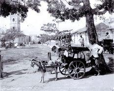 Hausierer ohne Ortsangabe ca. 1895